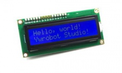 1602 I2C LCD display module (blue)